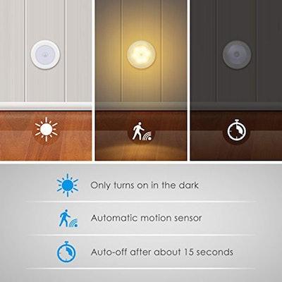 AMIR Motion Sensor Lights (6 Pack)