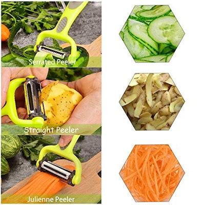 Multi-Function 3-In-1 Vegetable Peeler