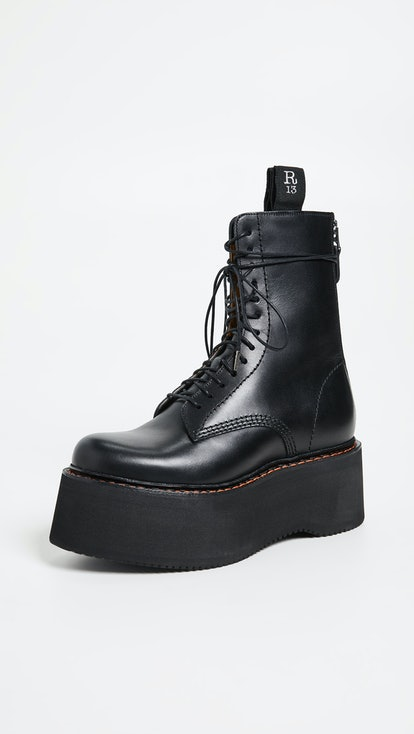 Combat Stack Boots