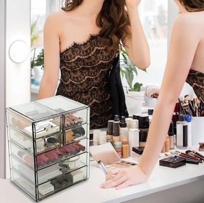 Sorbus Cosmetics Display Case