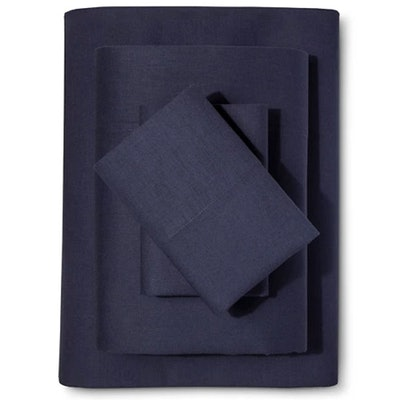 Washed Linen-Cotton Blend Sheet Set