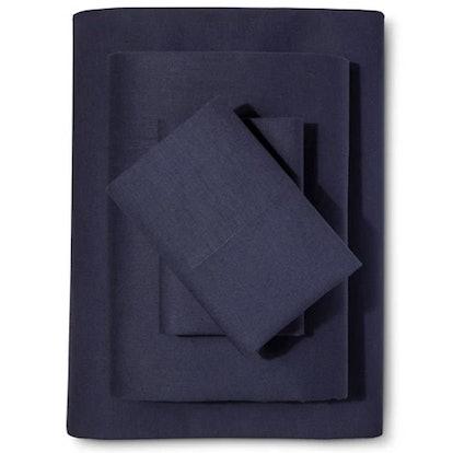 Washed Linen-Cotton Blend Sheet Set