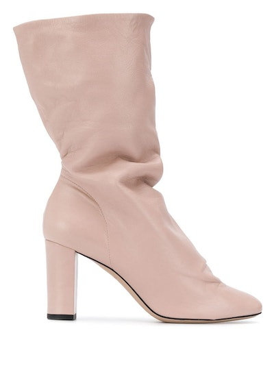 Slouched Mid-Calf Boot