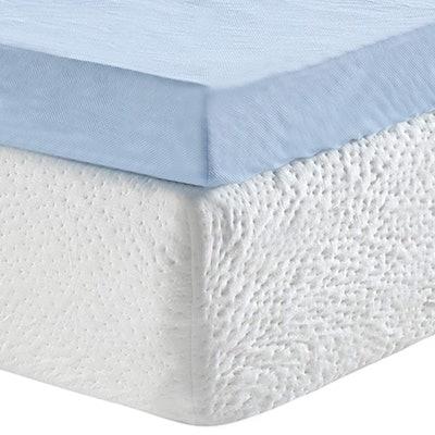 Classic Brands 3-Inch Cool Cloud Gel Memory Foam Mattress Topper