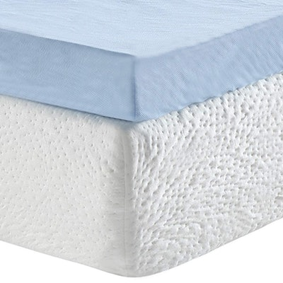 Classic Brands 3-Inch Cool Cloud Gel Memory Foam Mattress Topper