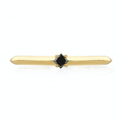 Petit Knife Edge Princess Cut Solitaire