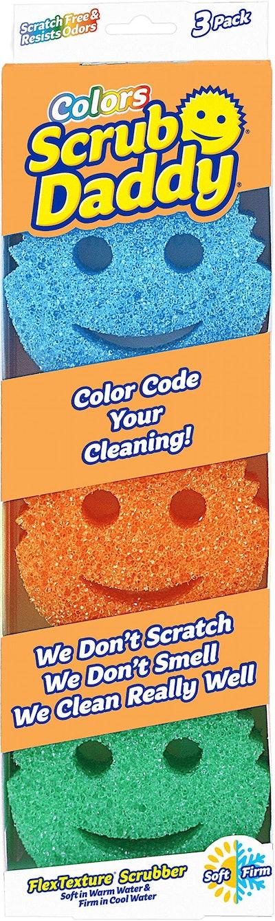 Scrub Daddy Scratch-Free Sponges (3 Pack)