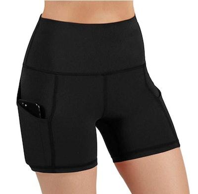 ODODOS High-Waist Yoga Shorts
