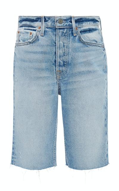 Beverly Denim Bermuda Shorts