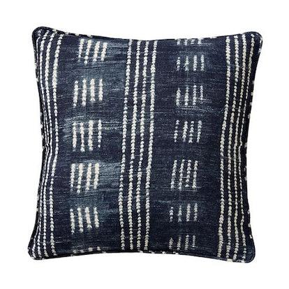 Shibori Dot Decorative Pillow