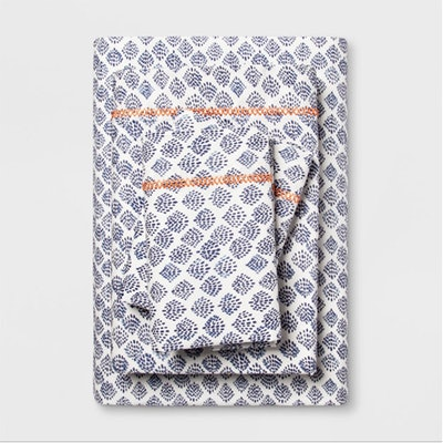Printed Cotton Percale Sheet Set