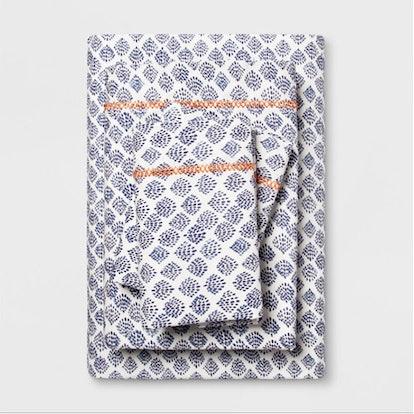 Printed Cotton Percale Sheet Set