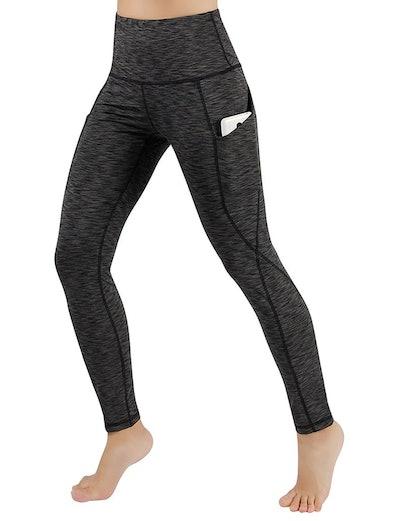 ODODOS High Waist Yoga Pants With Pocket (Sizes XS-XXL)