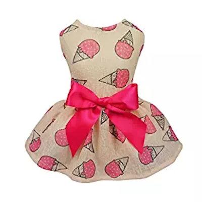 Ice Cream Pet Dress