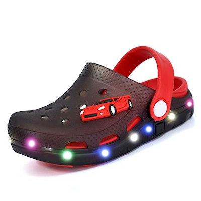 Flash Lighted Clog Sandals