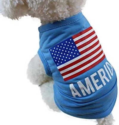 USA Flag Pet Shirt