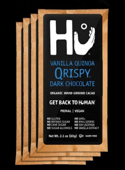 Vanilla Quinoa Qrispy Dark Chocolate