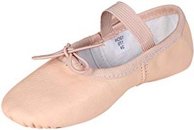 Leather Ballet Slipper