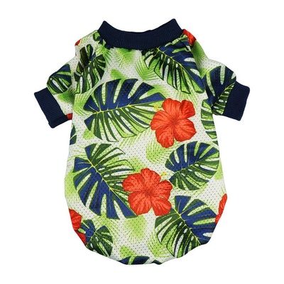 Palm Leaf Pet Clothes For Dogs