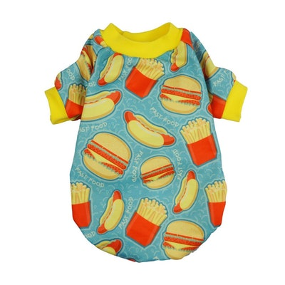 Hamburger Pet Clothes For Dogs