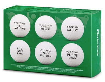 TaylorMade Project (a) Dad-ism Golf Balls