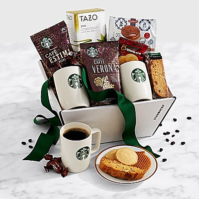 Starbucks® Recharge and Renew Gift Basket