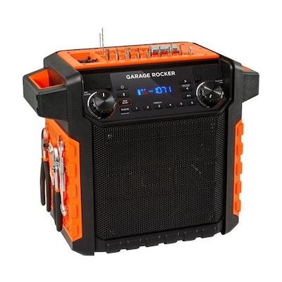 ION Audio - Audio Garage Rocker Portable Bluetooth Speaker
