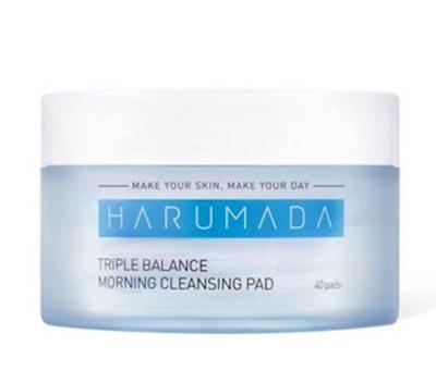 Harumada TRIPLE BALANCE MORNING CLEANSING PAD (40 PADS)