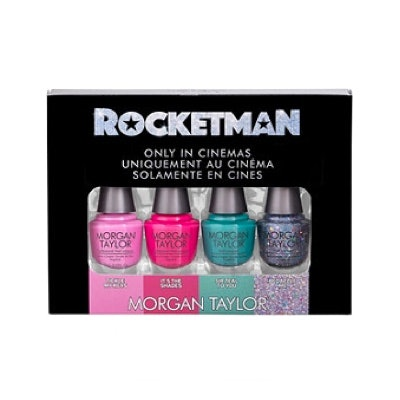 Morgan Taylor Rocketman Nail Laquer Mini 4 Pack