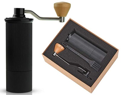Zone 365 Manual Coffee Grinder With Stainless Steel Burr