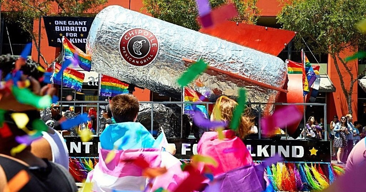 Chipotle's 2019 Pride Merch Line Is A Colorful Way To Support The Trevor Project