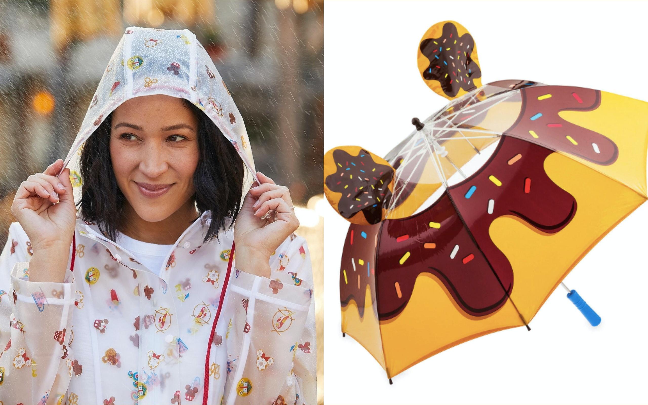 Disney's Rain Gear For Grownups Is So Cute You'll Wish For