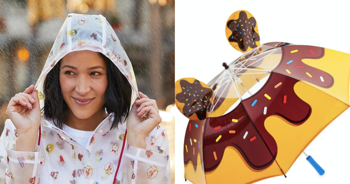 Disney's Rain Gear For Grownups Is So Cute You'll Wish For Showers