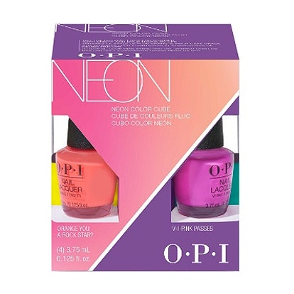 OPI Neons Nail Lacquer Mini 4-Pack Color Cube