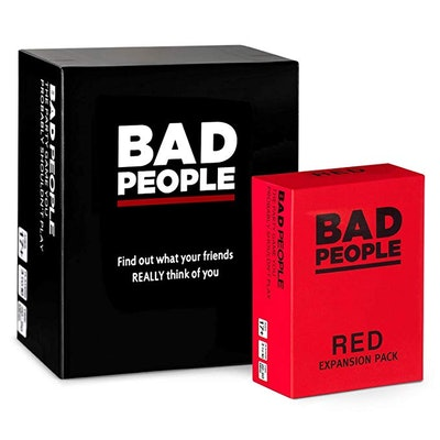 Bad People Party Game + Red Expansion Pack
