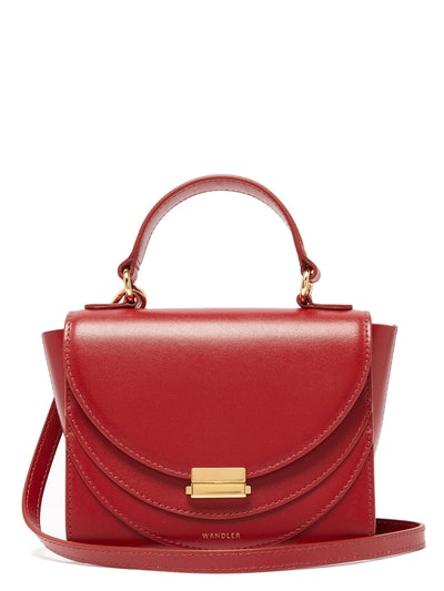 Luna Mini Leather Cross-Body bag