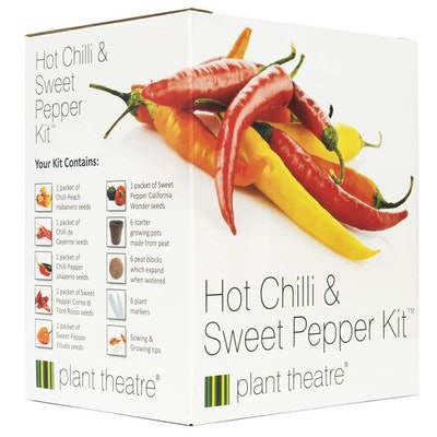 Plant Theatre Hot Chilli & Sweet Pepper Kit Gift Box