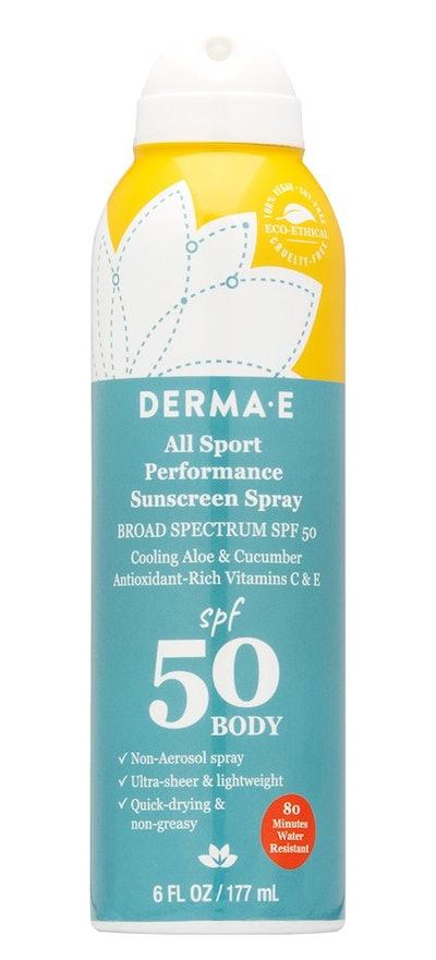 Water Resistant Sport Spray Sunscreen SPF 50