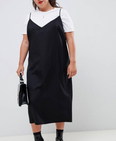 Curve Cami Midi Slip Dress