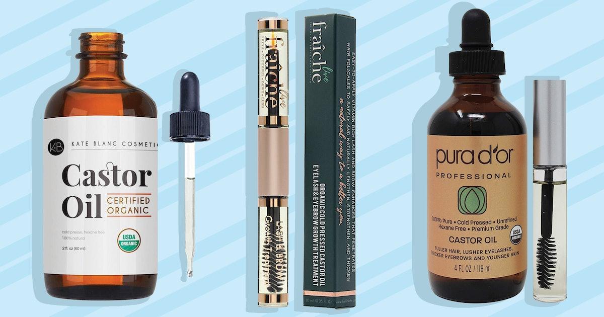 The 3 Best Castor Oils For Eyelashes