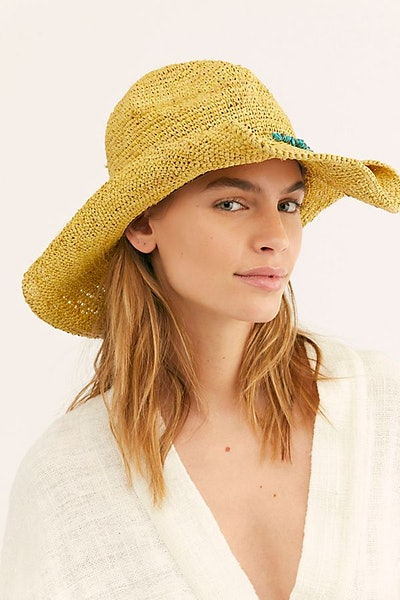 Sunny Stone Straw Hat