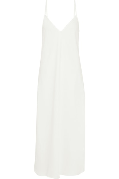 Eleventh Hour Crepe de Chine Midi Slip Dress