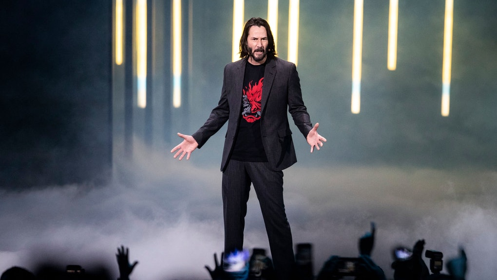 Image result for keanu reeves e3