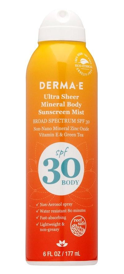 Ultra Sheer Mineral Body Sunscreen Mist SPF 30