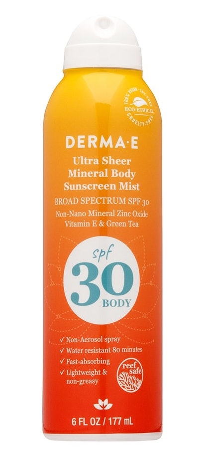 Ultra Sheer Mineral Body Sunscreen Mist SPF 30