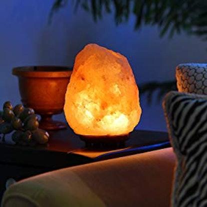 Himalayan Glow 1002 Pink Crystal Salt Lamp