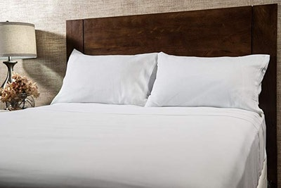Len Linium European Made Pure Linen Sheets Set