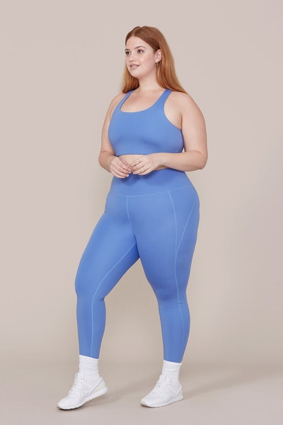 Periwinkle Compression High-Rise Leggings