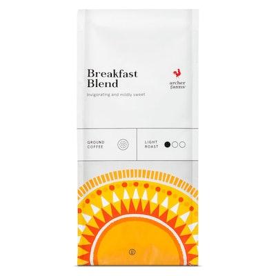 Breakfast Blend Light Roast Ground Coffee - 12oz - Archer Farms™