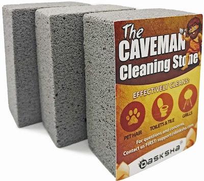 Dasksha The Caveman Cleaning Stone (3 Pack)